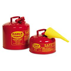 Eagle Safety Can, Type I, 2gal, Red, With F-15 Funnel