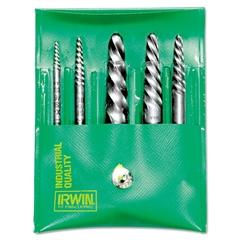 IRWIN Spiral-Flute Extractor, 5-Piece Set, EX-1 to EX-5