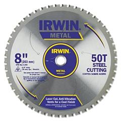 50T Metal Cutting Saw Blade, Ferrous Steel, 8in