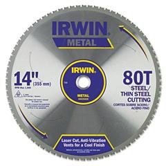 80T Metal Cutting Ferrous Steel Circular Saw Blade, 14in