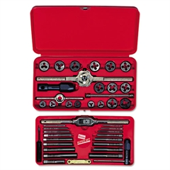 IRWIN Metric Tap & Die Set, 41-Piece