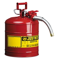 "AccuFlow Safety Can, Type II, 5gal, Red, 1"" Hose"