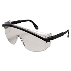 Uvex Astrospec 3000 Safety Spectacles, Black Frame