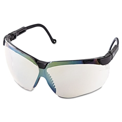 Uvex Genesis Shooting Glasses, Black Frame