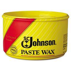 SC Johnson Paste Wax, Multi-Purpose Floor Protector, 16oz Tub, 6/Carton