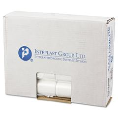 Inteplast Group Commercial Can Liners, Perforated Roll, 10gal, 24 x 24, Natural, 1000/Carton