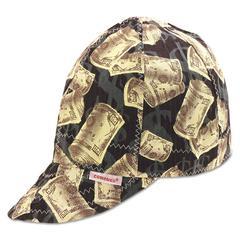 Comeaux Single Sided Soft Brim Comfort Crown Cap, Cotton, Assorted Colors, Size 7