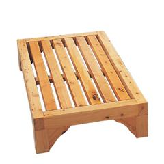 """AB4409 24"""" Modern Wooden Stepping Stool  Multi-Purpose Accessory"""