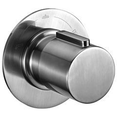 AB9101-BN Brushed Nickel Modern Round 3 Way Shower Diverter