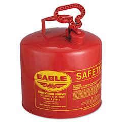 Safety Can, Type I, 5gal, Red