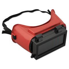 JACKSON SAFETY WS-85 Cutting Goggles, Red Frame, Shade 5.0 Lens