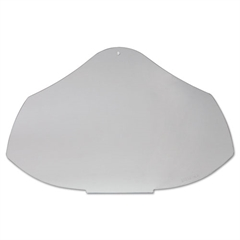 Uvex Bionic Face Shield Replacement Visor, Clear
