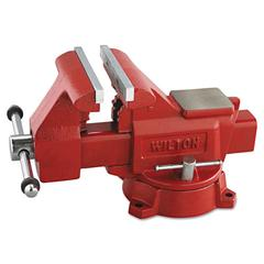 "Wilton Vise, Cast Iron, Utility, 5 1/2"" Jaw Opening, 6 1/2"" Jaw Width, 41.85 Pounds"