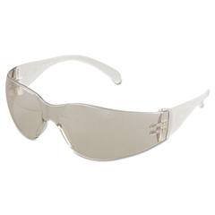 Virtua Protective Eyewear, Clear Frame, Mirror Indoor/Outdoor Lens