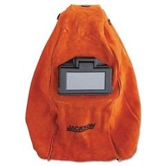 JACKSON SAFETY HUNTSMAN Leather Welding Helmet, Rust