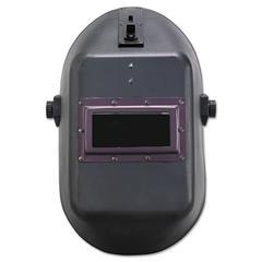 "JACKSON SAFETY HUNTSMAN W10 900 Series Welding Helmet, 4 1/4"" x 2"", Black"