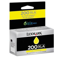 Lexmark 200XLA Ink Cartridge - Yellow - Inkjet - 1600 Page - 1 Pack