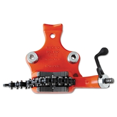 "RIDGID Vise, Cast Iron, Bench Chain, 6"" Jaw Width, 24.5 Pounds"