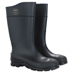 SERVUS by Honeywell CT Safety Knee Boot with Steel Toe, Black