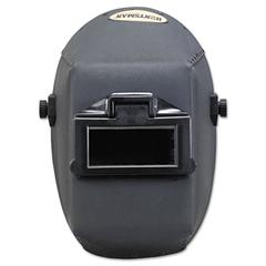 "JACKSON SAFETY HUNTSMAN Fiber Shell Welding Helmet, 4 1/4"" x 2"", Black"