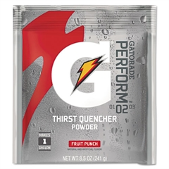 Gatorade Original Powdered Drink Mix, Fruit Punch, 2.12oz Packet