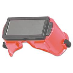 KIMBERLY-CLARK PROFESSIONAL JACKSON SAFETY WS-80 Cutting Goggles, Red Frame, Shade 5.0 Lens