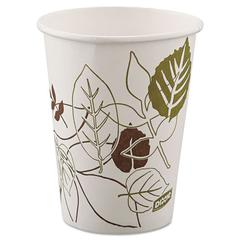 Dixie Pathways Paper Hot Cups, 8oz, 25/ Pack, 25/Pack