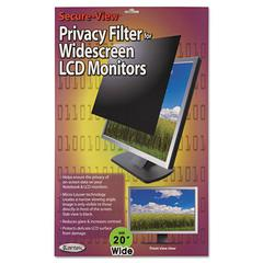 "Secure View LCD Monitor Privacy Filter For 20"" Notebook/LCD"