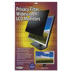 "Kantek Secure View LCD Monitor Privacy Filter For 21.5"" Widescreen"