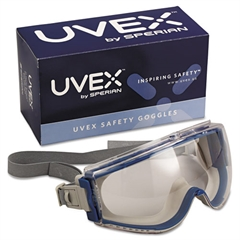 Stealth Safety Goggles, Teal Frame, Clear Lens