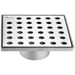 "STS050504 Thames River Series - Square Shower Drain 5""L"