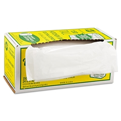 Industrial Strength Flex-O-Bags, 24 x 30, 13gal, 1.25 Mil, White