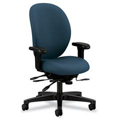 HON Unanimous High-Performance High-Back Executive Chair, Cerulean Fabric