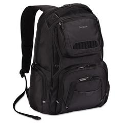 Targus Legend IQ Backpack, 12-6/10 x 10-1/2 x 18-3/10, Black