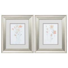 Corsage Wall Art, Pack of 2