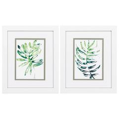 Emerald Tropics Wall Art, Pack Of 2