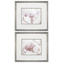 Blush Floral Wall Art, Pack of 2
