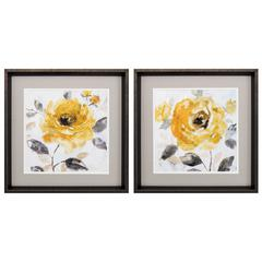 Honey Rose Wall Art, Pack Of 2