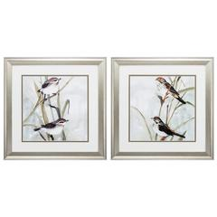 Neutral Spring Wall Art, Pack Of 2