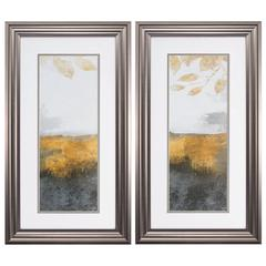 Golden Landscape   Wall Art, Pack Of 2