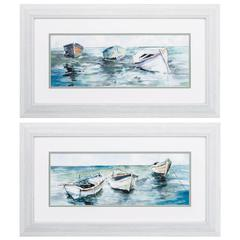 Caught At Low Tide Wall Art, Pack Of 2