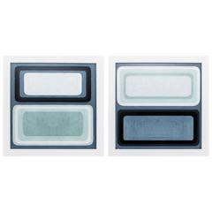 Maritime Color Field Wall Art, Pack Of 2