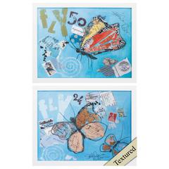 Fly Wall Art, Pack Of 2