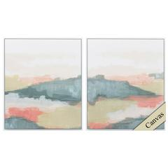 Valley Haze Wall Art, Pack Of 2