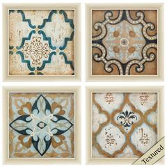 Villa Umbra Wall Art, Pack Of 4