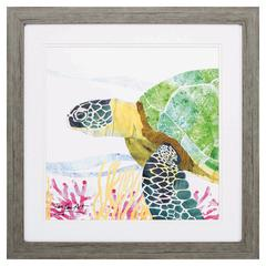 Sea Creature Turtle Wall Art