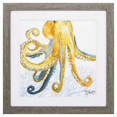 Sea Creature Octopus Wall Art