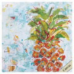 Pineapple Bright Wall Art