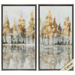 Forest Wall Art, Pack of 2