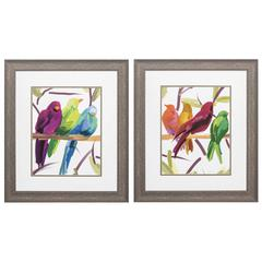Flock Together  Wall Art, Pack of 2